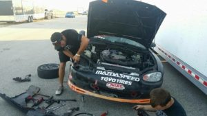 Track side repair service